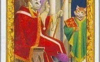 Таро Черных котов: галерея, значения карт, сочетания и толкования в раскладах