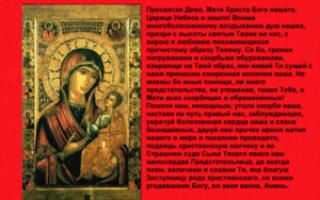 Молитва иконе Божьей Матери «Иверской»: о помощи исцелении, значение иконописи