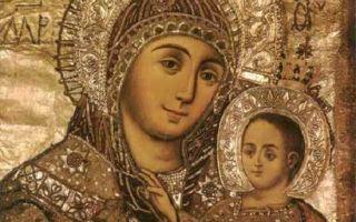 Молитва иконе Божьей Матери «Вифлеемской»: дарование детей и о помощи