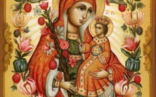 Молитва иконе Божьей Матери «Неувядаемый цвет»: значение, в чем помогает и о замужестве