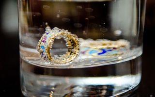 Примета: из кольца выпал камень и потерялся
