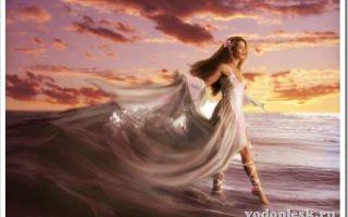Нимфа (древнегреческая мифология): кто это, речная и морская
