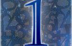 Число 1 (единица): что обозначает в нумерологии