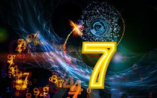 Число рождения 7 в нумерологии, значение