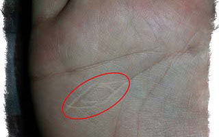 Знаки ведьмы: глаз (око) на ладони и другие символы в хиромантии, метки у женщины и мужчины
