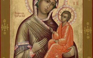 Молитва иконе Божьей Матери «Тихвинской»: текст о детях и здоровье, значение образа