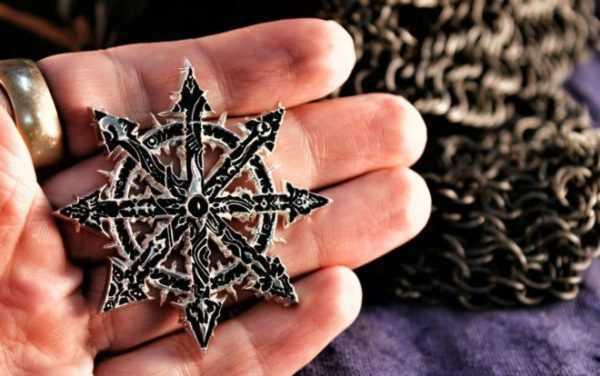 Амулет Звезда Хаоса (восьмиконечная): значение символа, описание