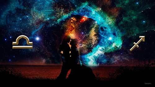 Стрелец и Весы: совместимость в любви по гороскопу