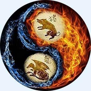 Дракон и Свинья (Кабан): совместимость в любви