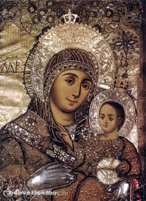 Молитва иконе Божьей Матери «Вифлеемской»: дарование детей, о помощи