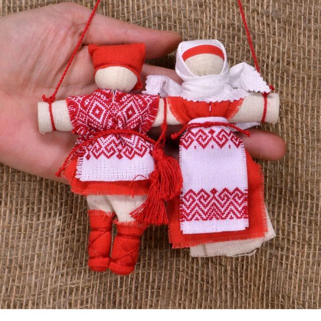 Кукла Неразлучники: как сделать своими руками оберег для молодоженов на свадьбу, значение у славян, защита семейного счастья