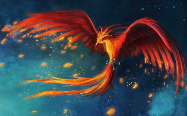 Птица Феникс (мифология): что символизирует, огненный, мифическое существо