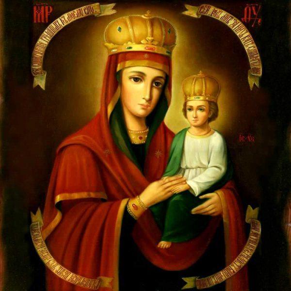 Молитва иконе Божьей Матери «Споручница грешных»: значение, в чем помогает