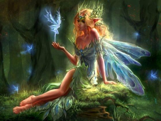 Фея (мифическое существо): вызов, где живут, как выглядит