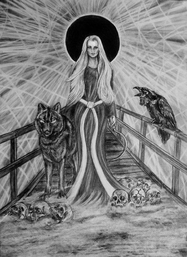 Марена (славянская мифология): богиня смерти, трансформации, зимы