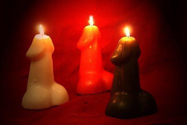 этом нестоячка на фото и красную свечу дозвонились