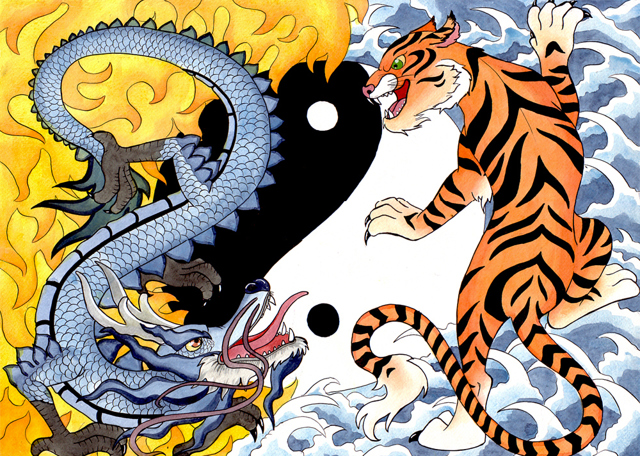 Тигр и Дракон: совместимость по восточному гороскопу