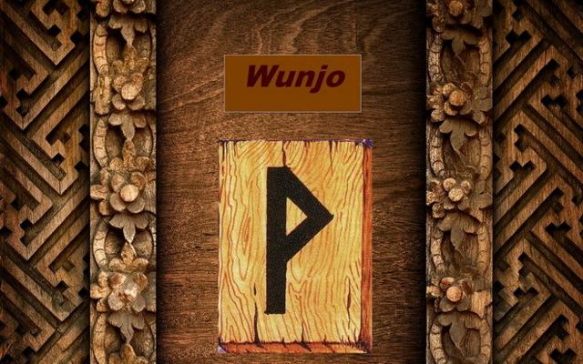 Руна Вуньо (Винья): фото и значение в перевернутом и прямом положении