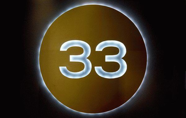 Число 33: что обозначает в нумерологии?