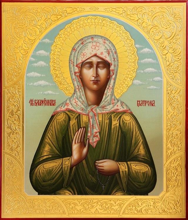 Молитва Матроне Московской от пьянства: мужа, сильная