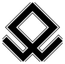 Руна Волка (Семаргл) у славян, тату, чертог