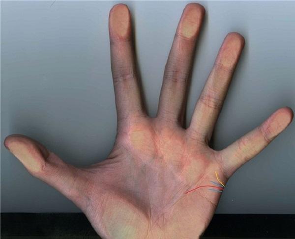 Линия развода на руке: брак, хиромантия, где находится
