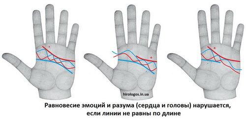 Родинка на линии сердца: правая и левая рука, хиромантия, значение