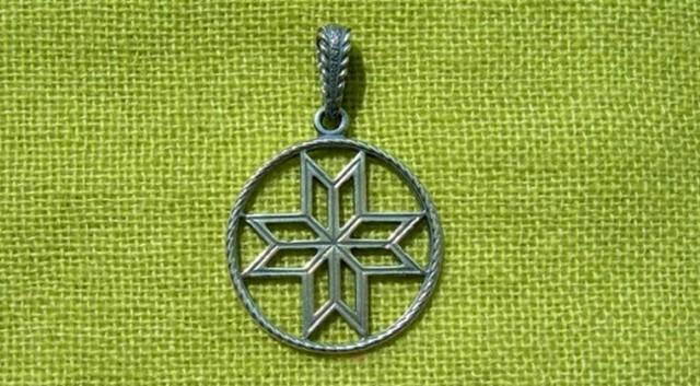 Оберег Сварог: славянский символ, значение, описание