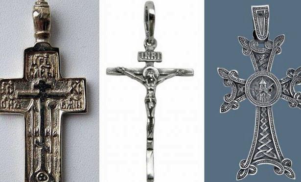 Нательные кресты: православные, католические, какими должны быть