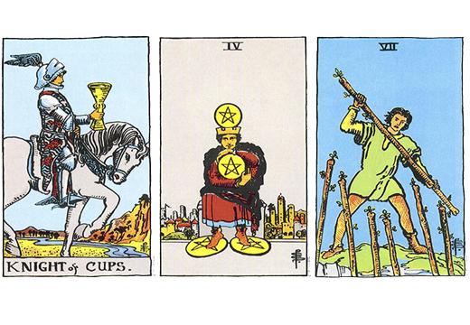 Рыцарь Кубков (Всадник Чаш): значение аркана Таро, сочетания с другими картами, толкование в гаданиях и раскладах, перевернутый и прямой