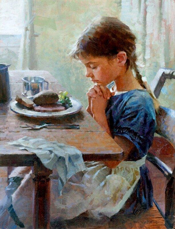 Молитва перед едой и после: православная, на русском языке, благословение пищи