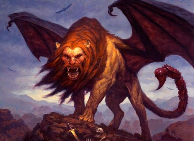 Мантикора (мифология): что такое, мифическое существо, как выглядит