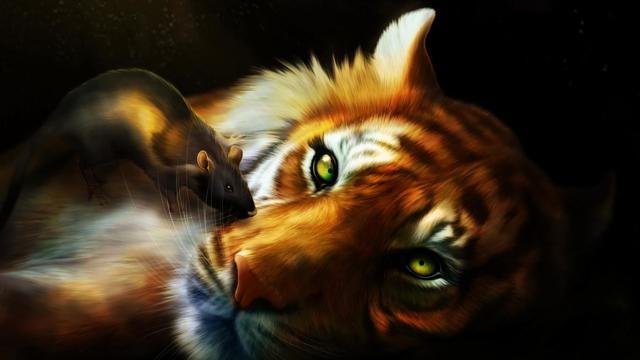 Тигр и Крыса: совместимость в браке, по гороскопу