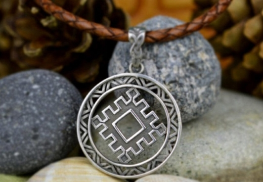 Оберег Репейник Счастья: славянский символ, значение, описание
