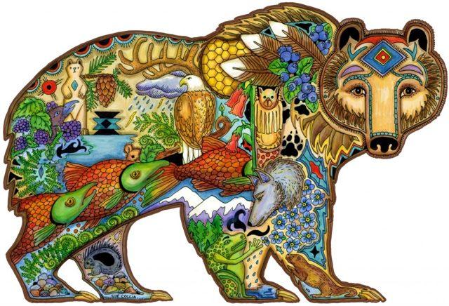 Чертог Медведя: описание оберега, значение, толкование