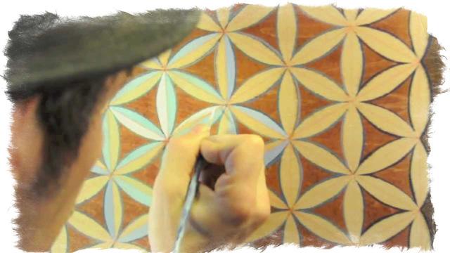 Мандала Цветок Жизни для исполнения желания: очень сильная и мощная, распечатать для раскрашивания, сделать самому