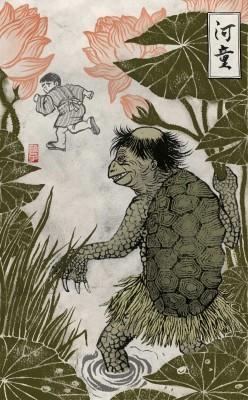 Мифические существа Японии: капа, список, легенды