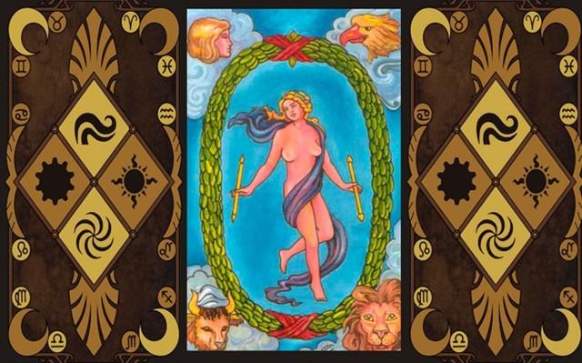Мир Таро (21 аркан, Вселенная): значения и сочетания с другими картами, в отношениях и любви, перевернутый и прямой в раскладах, описание и толкование