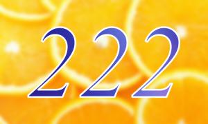 Значение числа 222 в нумерологии