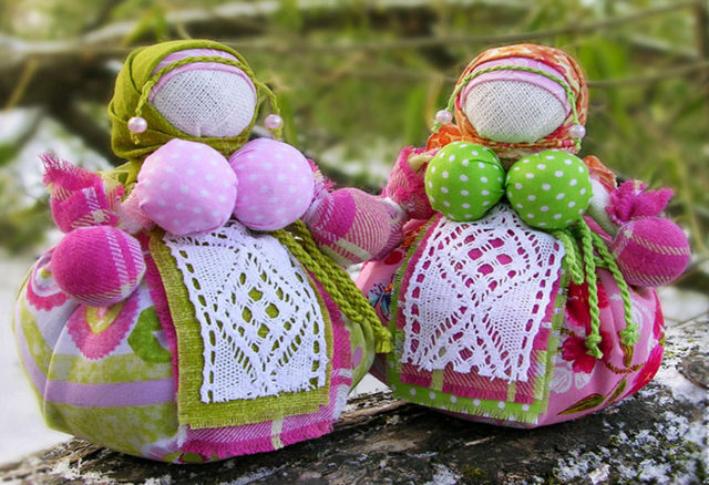 Славянские куклы-обереги: сделать своими руками, для начинающих, из ткани