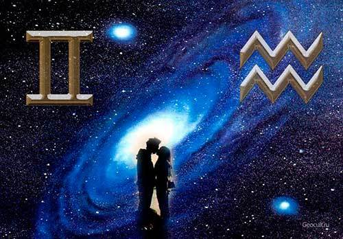 Близнецы и Водолей: совместимость знаков зодиака, гороскоп