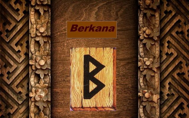 Руна Беркана (Бьярка): значение прямой и перевернутой, описание и толкование в любви для одиноких, гадание на отношения и ситуацию