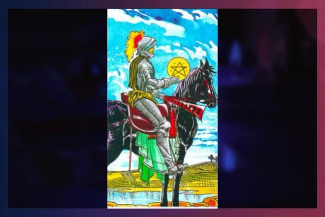 Рыцарь Пентаклей (Всадник Монет, Денариев): значение аркана Таро, сочетания с другими картами, толкование в гаданиях и раскладах, перевернутый и прямой