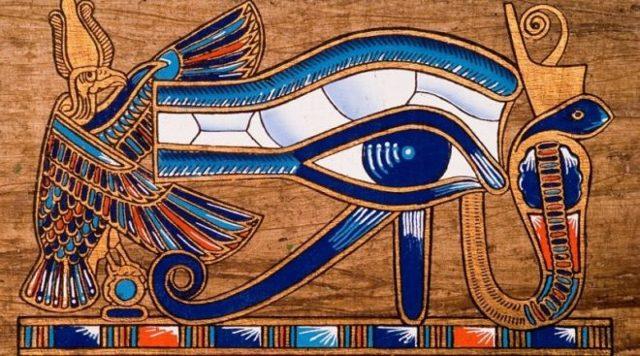 Глаз Гора (Уаджет): значение символа, левый и правый, египетский амулет