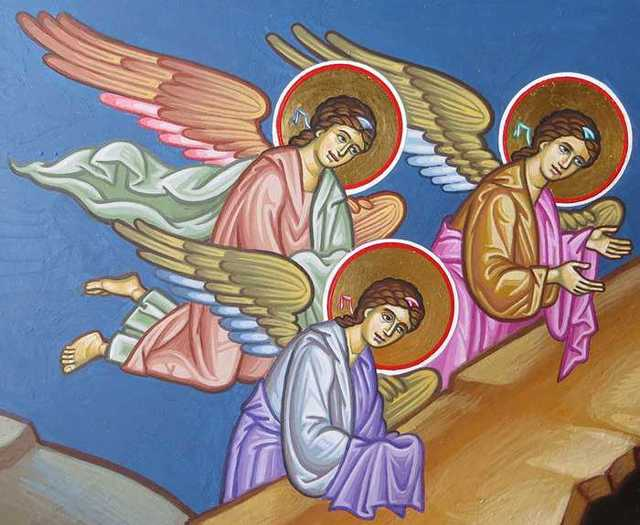 Молитва «Ангел мой, пойдем со мной, ты впереди, я за тобой»