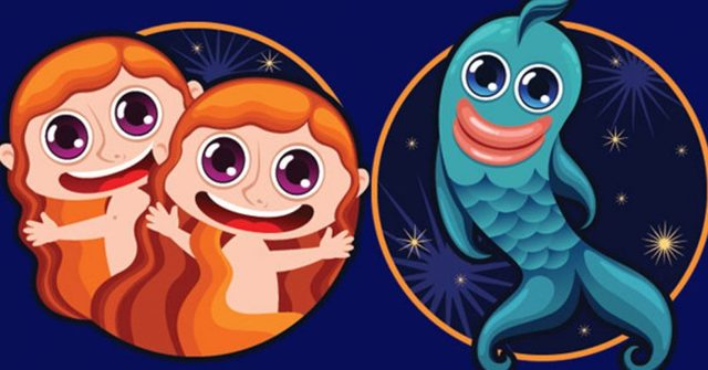 Близнецы и Рыбы: совместимость знаков зодиака, гороскоп