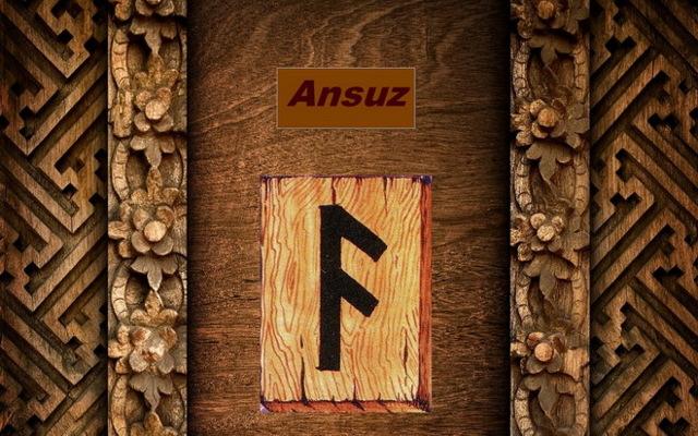 Руна Ансуз: значение, фото в перевернутом положении, описание и толкование