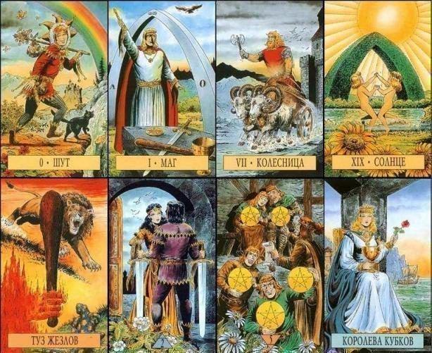 Таро Зеркало Судьбы: галерея, значения карт, сочетания и трактовка в раскладах