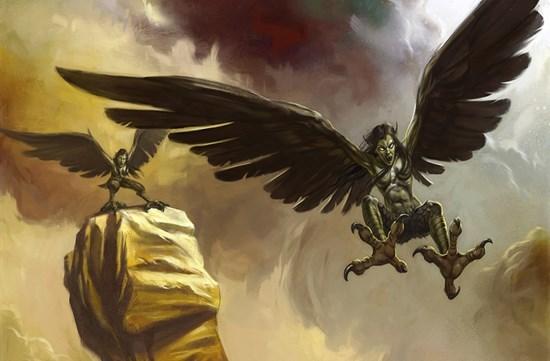 Гарпии: мифология, кто такие