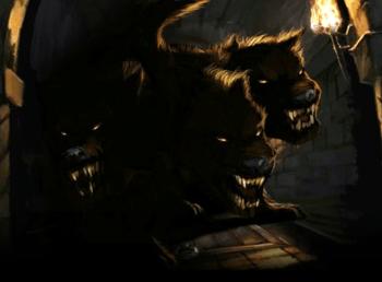 Цербер (мифология): кто это такой, охранявший врата Аида, трехглавый